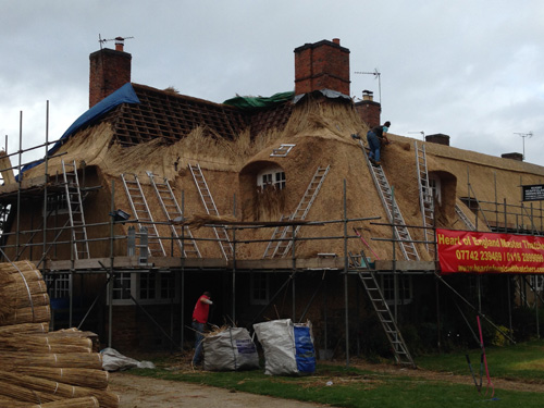 Re-thatch – Ashby St Ledgers