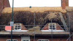 Re-thatch – Queniborough, Leicestershire