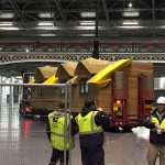 Our Modular House Arriving at The Olympia