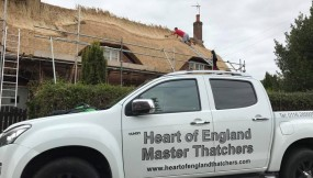 Re-thatch – Packington, Leicestershire