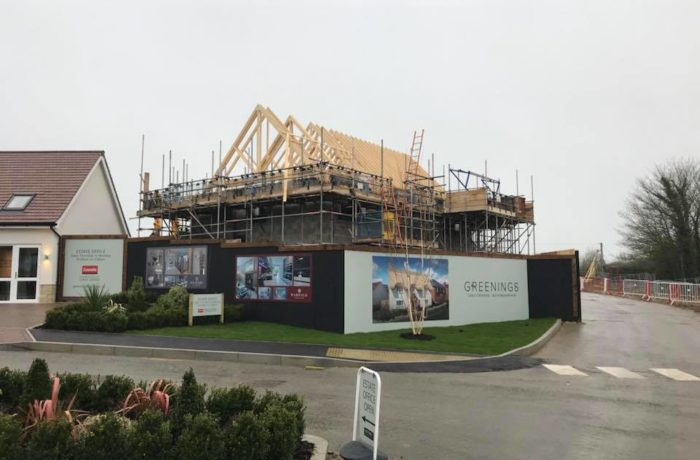 New Build Thatching – Oxford, Oxfordshire