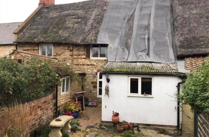 What a Difference! Rethatch and Roof Tile Reclamation!