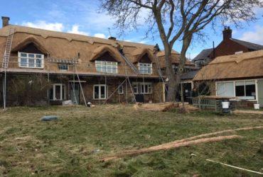 A Monster Re-Thatch Job in Langham, Rutland
