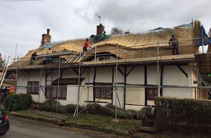 Re-Thatch – Market Bosworth