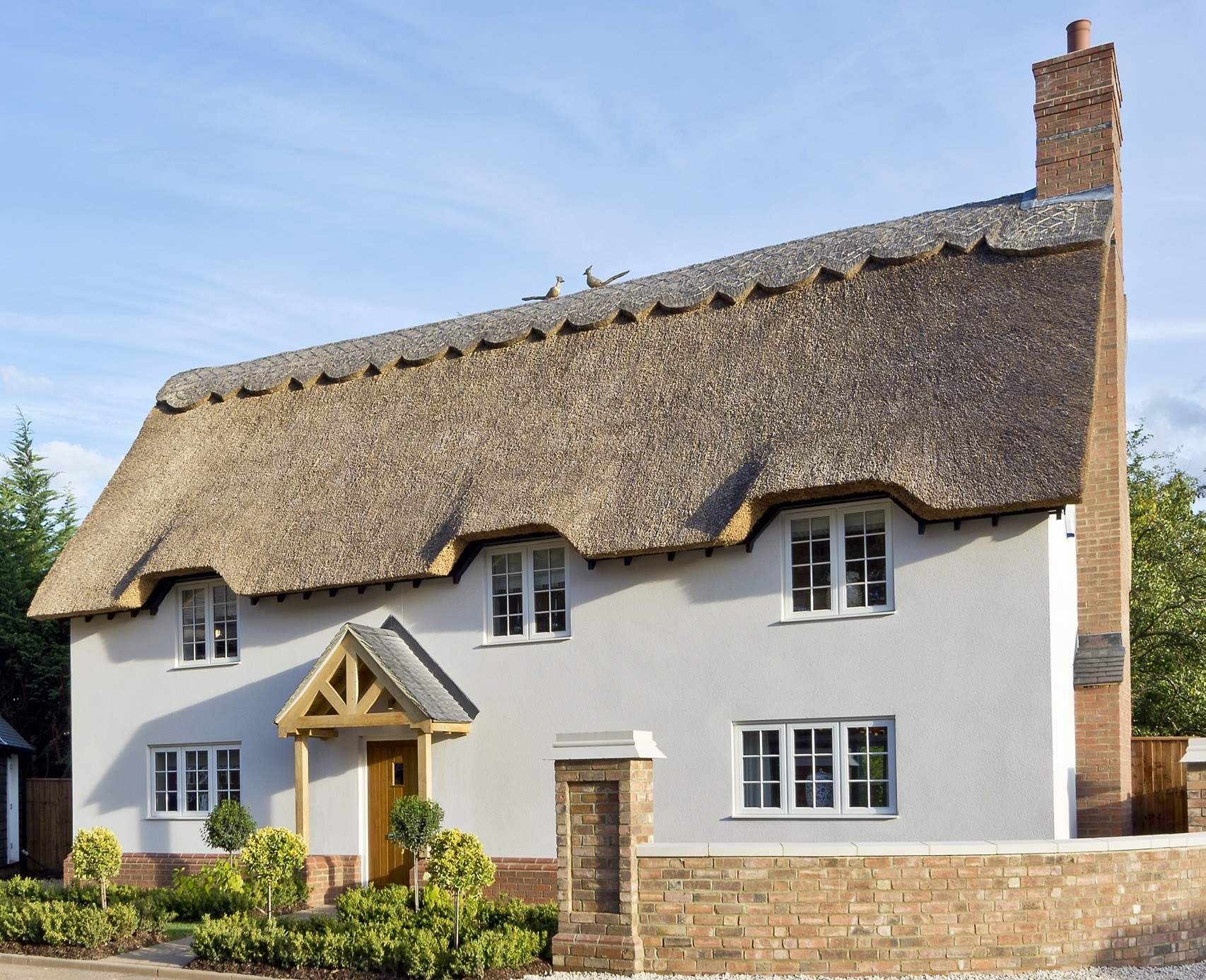 Repair My Thatch Roof Or Re Thatch It Heart Of England