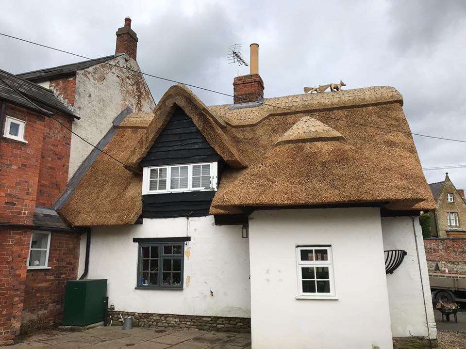 Re Thatch Clipston Market Harborough Heart Of England