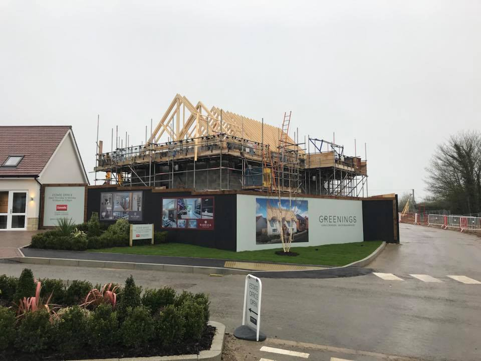 New Build Thatching Oxford Heart Of England Master Thatchers