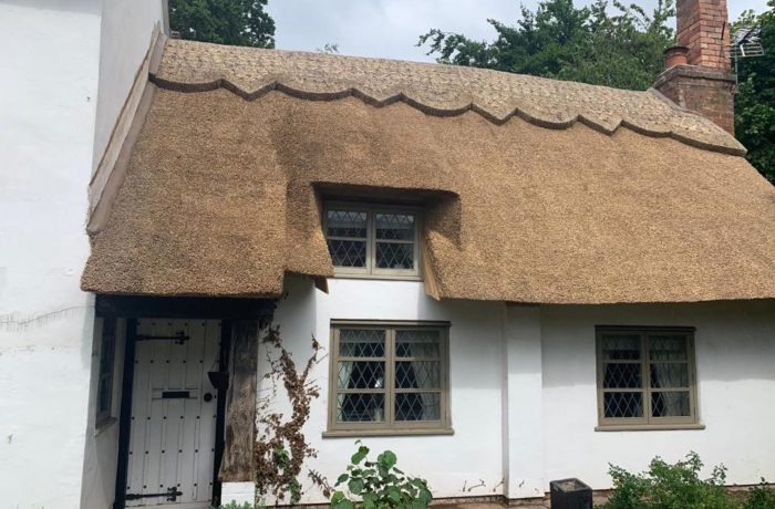 Re-Timber & New Thatched Roof in Balsall Common (Part 2)