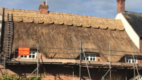 A Re-Ridged Thatch in Great Dalby